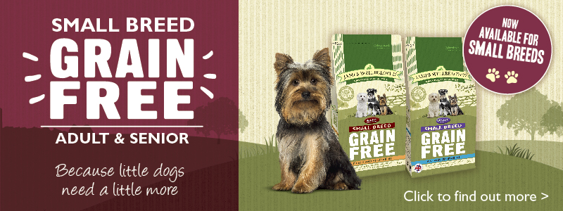 Small Breed Grain Free Adult and Senior