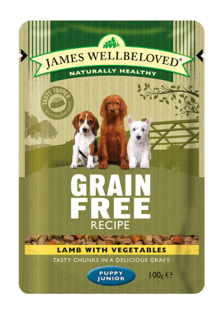 Food For Puppies James Wellbeloved