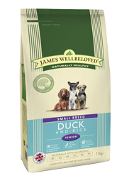 Small Breed Duck and Rice Senior