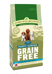 Grain Free Fish & Vegetables Puppy/Junior