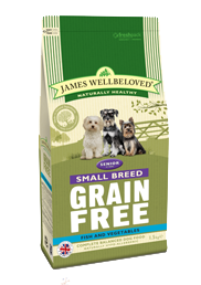 Grain Free Fish and Vegetable Senior Small Breed